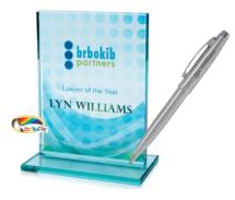 Award and pen