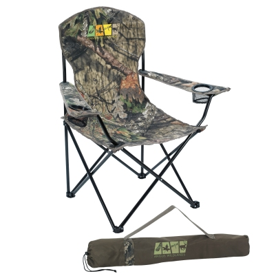 #45009C Captain Chair with Mossy Oak(R) Break UP Country Fabric
