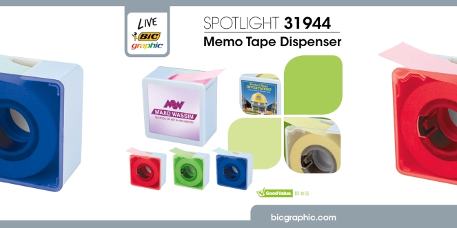 Social Media_Memo Tape Dispenser